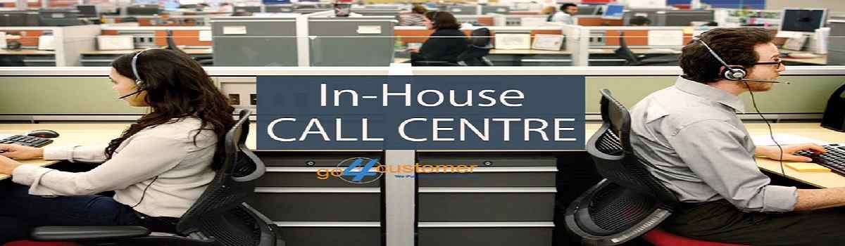 in-house call centre