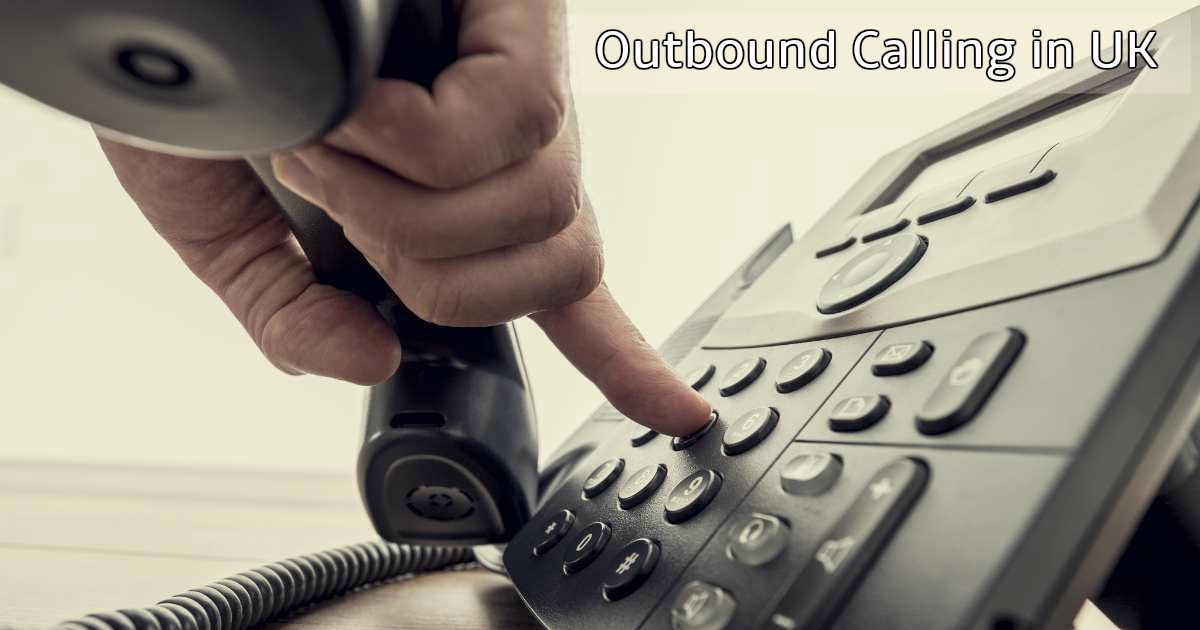 outbound calling UK