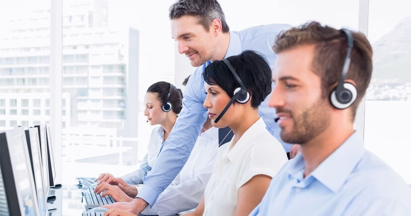 help desk call centre
